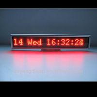Latest technology mini led display with digital clock