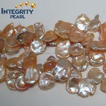 Reborn loose freshwater keshi pearls strands