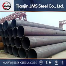 ASTM A 53/SCH 80 black seamless steel pipe