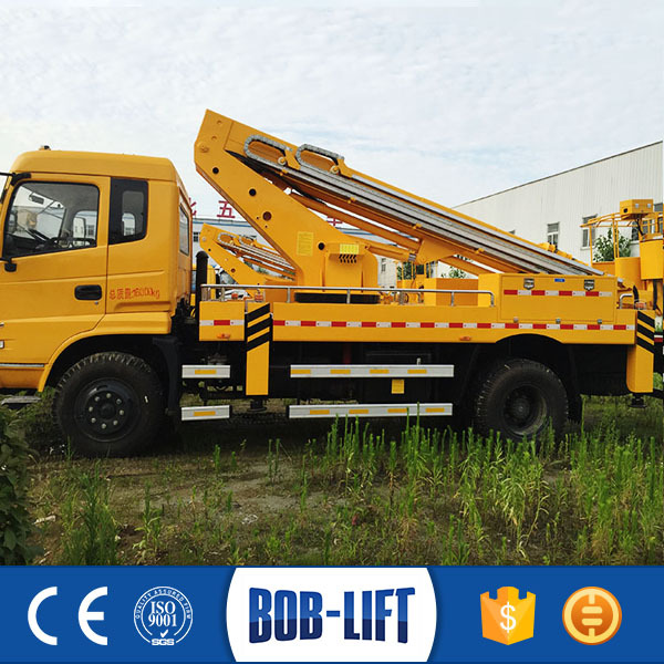 Hydraulic Boom Lifts For Pickups : Manufacturer hydraulic boom crane telescopic man lift