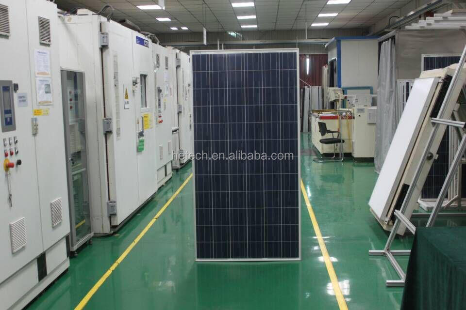 Polycrystalline 305w stock photovoltaic panel