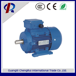 Aluminum housing IEC standard squirrel cage 3 phase induction motor for air compressor