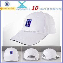 wholesale cotton custom woven logo golf hat