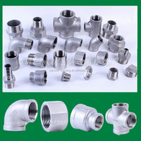 2 inch stainless steel pipe fittings for 150 LBS with NPT/ BSP/BSPT threaded