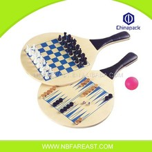 High quality funny the game of go wooden racket