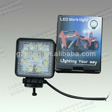 Hot deal 27w led work light for buses,12v led boat light,led off road working lamp