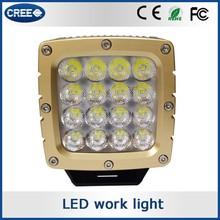 Wholesale products auto accessory california light works LED panel work light, shanren LED work light