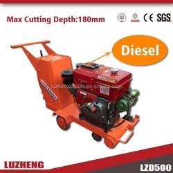 New coming machine LZ500 Diesel concrete cutter