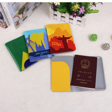 PVC Passport holder with full color printing for business promotion