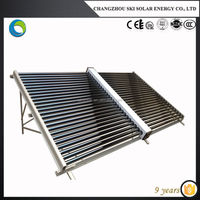 central heating hot water solar system