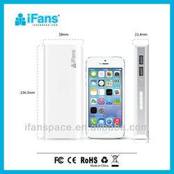 2 Usb Output Portable Power Stick for Smartphone