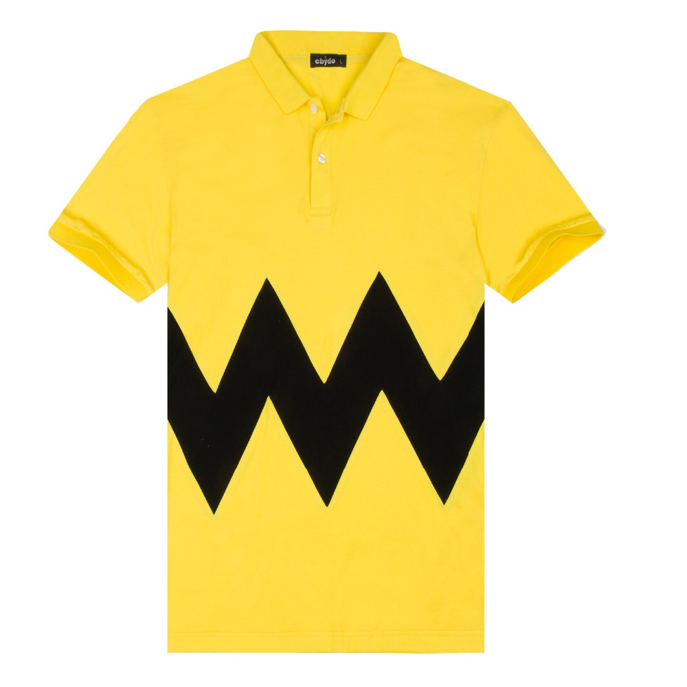 Unisex short sleeve cotton yellow polo shirts mens custom for Wholesale logo t shirts