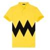 Unisex short sleeve cotton yellow polo shirts mens custom logo t shirt wholesale cheap