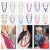 Best Selling Baby Product unique fashion silicone necklace
