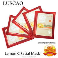 Manufacturer looking for representative for wholesale vitamin c serum for Lemon C Facial Mask with oem product