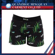 China custom sublimation print men boxer briefs underwear