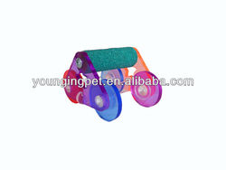 slide and spin bird toy