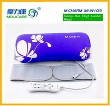 big size slim massage vibrating adjustable waist trimmer belt