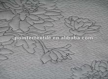 100% polyester knitting jacquard mattress fabric 145gsm,82/83'' printed polyester knit jacquard mattress