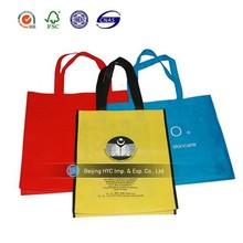 2015 custom promotional custom eco-friendly shopping non woven bag non woven drawstring shoe bag