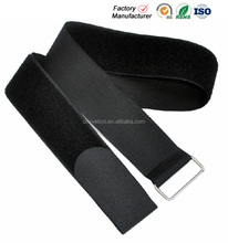 Heavy duty d ring velcro strap/luggage tied with velcro