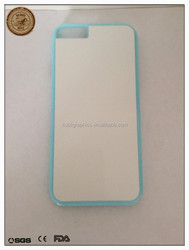 2D Sublimation Case DIY Back Cover Cases with White Metal Plate