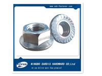 China alibaba supplier&exporter made in china flange nut dimension