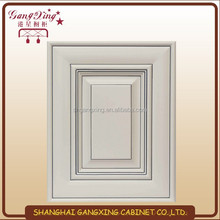 White shaker kitchen cabinets drawing line
