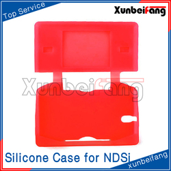 Protective Skin Silicone Case for NDSi Red