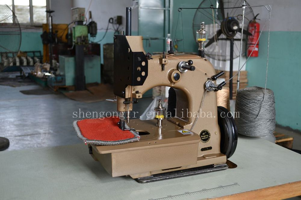 Carpet Binding Table ~ Gn a carpet overlock machine binding