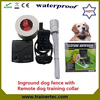 Rechargeable and waterproof used fencing system & 300 meters electronic shock collar