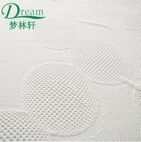 2015 hot sell organic cotton jacquard mattress fabric