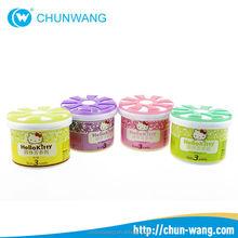 Long Lasting Perfumed Solid Gel Air Freshener Used For Car Or Office