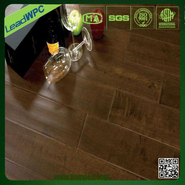 Non toxic wpc indoor basketball court wood flooring buy for Indoor basketball court flooring cost