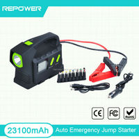 USA Market 23100mah Jump Starter 24V Car Jump Starter X07 Car Battery Booster