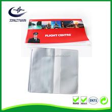 Soft PVC Air Ticket Holder