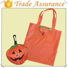 2015 Promotional 190T Polyester Halloween Foldable Shopping Bag