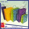 Pattern Paper Shopping Bag with Different Colors