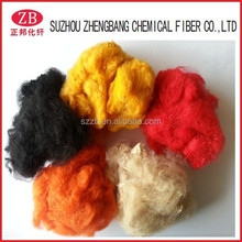 recycled polyester staple pes fibre