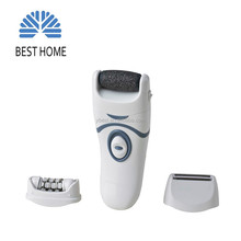 Battery operated Lady hair remover and dead skin remover 3 in 1 set