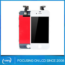 Repair parts for iphone 4 lcd touch screens, mobile phone display for iphone 4 lcd touch screen displays