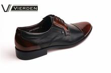 Zapatos de vestir de cuero de vaca nuevos modelos 8850-02