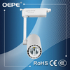 Aluminium/plastic led flexible track light 3 wire cob led rail light adjustable led track light