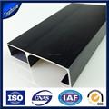 de alta calidad de china la fabricación de aluminio perfiles de marco del gabinete de cocina puerta de cristal