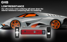 GHB Mini Car Jump Starter Emergency USB Charger Jumper Power Pack