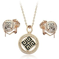 new items in china market dubai gold plated costume jewelry sets