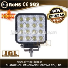 Super quality work light led 4x4 led driving light ATV UTV waterproof led light