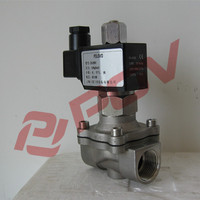 110v ac 2/2 way direct acting brass thread solenoid valve normally open