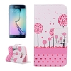 brand name phone case PU Leather flip cover for galaxy s6