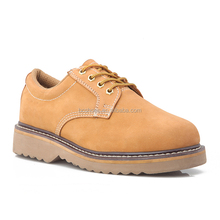 genuine goodyear welt construction/Wheat color leather goodyear acidproof safety boots/italian military boots